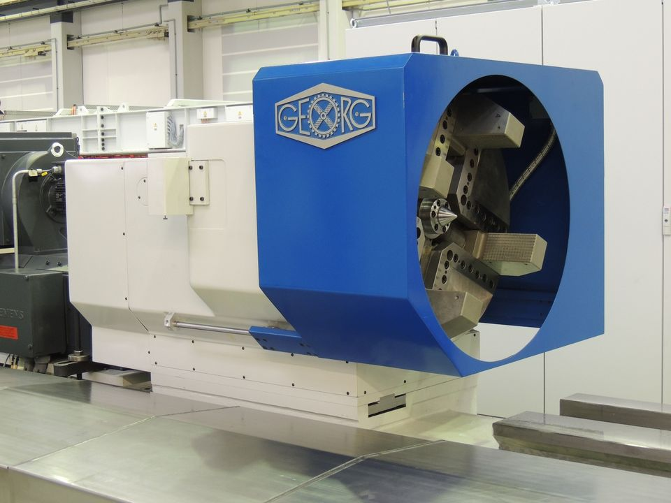 Heinrich Georg Maschinenfabrik delivers the fourth Roll Lathe to Trinec