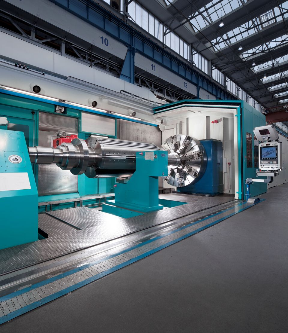 New machining centers save 40 percent of machining time
