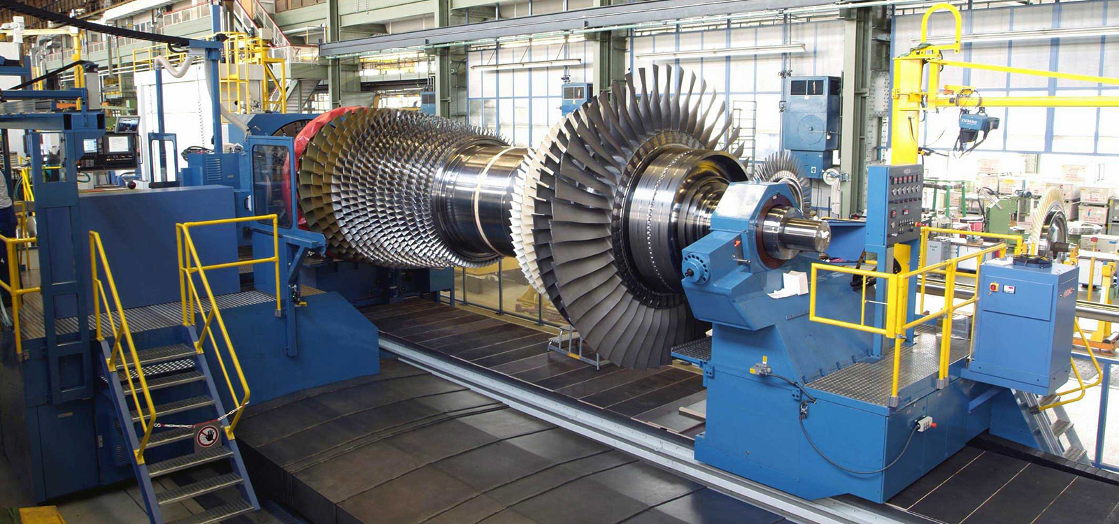 GEORG machine tool for gas turbine manufacturing in Russia