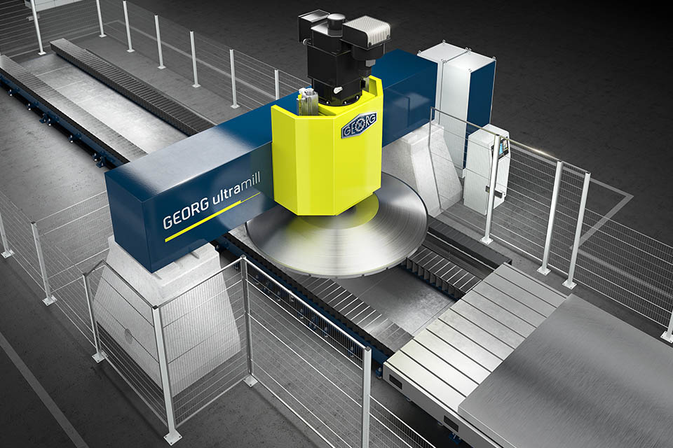Milling machine for aluminium plates sets new standard